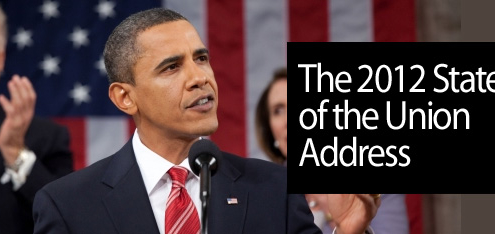 Obama delivers 2012 State of the Union Address