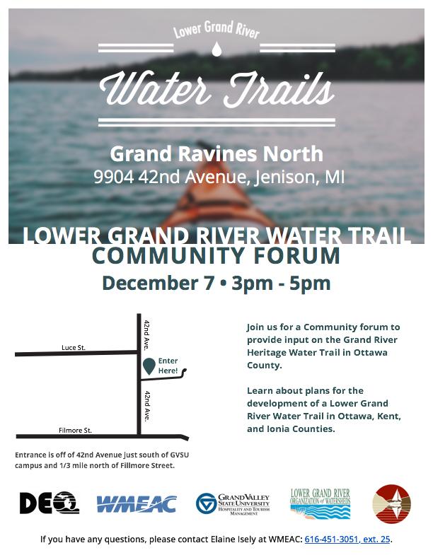 WMEAC - Lower Grand River Water Trail Invitation