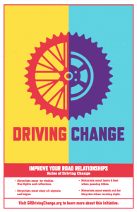 Driving change poster