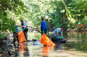 Although perceptions of the Grand River's water quality vary, regular river cleanings are necessary as pollution and litter remain a key issue