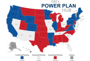 Where the states stand: in response to the Clean Power Plan, Attorney Generals across the nation had differing views.